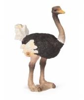 Plastic struisvogel 7 cm trend