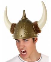 Plastic viking helm luxe goud trend