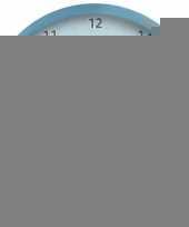 Plastic wandklok franse bulldog 25 cm trend 10090065