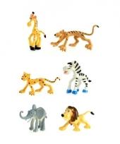 Plastic wilde dieren 6 stuks trend