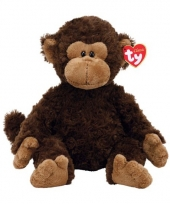 Pluche apen knuffel bruin 33 cm trend