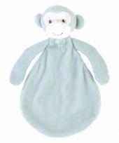 Pluche apen knuffeldoekje marlo 26 cm trend