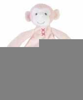 Pluche apen knuffeldoekje marly 26 cm trend