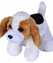Pluche beagle hond knuffeltje 18 cm trend