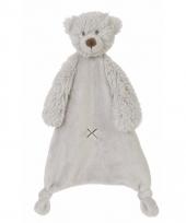 Pluche beer knuffeldoekje harvey 28 cm trend