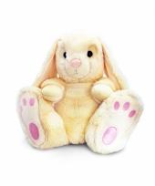 Pluche beige konijn 50 cm trend
