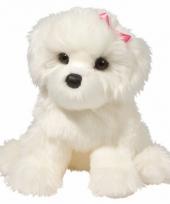 Pluche bichon fris hond knuffel 41 cm trend