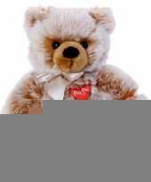 Pluche bruine beer knuffel zittend 35 cm trend