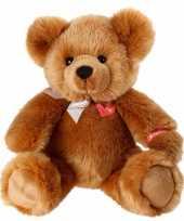 Pluche bruine beer knuffel zittend 40 cm trend