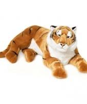 Pluche bruine tijger 81 cm wnf trend