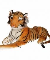 Pluche bruine tijgers 70 cm trend