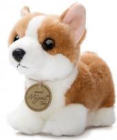 Pluche corgi pup honden knuffel 20 cm trend