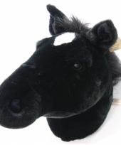 Pluche decoratie paardenhoofd trend