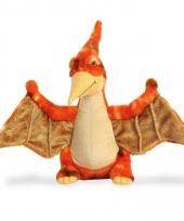 Pluche dinosaurus knuffel pteranodon 34 cm trend