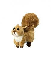 Pluche eekhoorn 18 cm trend
