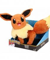 Pluche eevee pokemon knuffel 25 cm trend