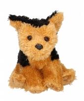 Pluche fox terrier knuffel 15 cm trend