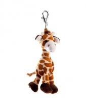 Pluche giraffe10 cm trend