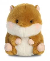 Pluche hamster knuffel 12 cm trend