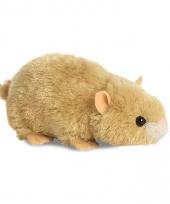 Pluche hamster knuffel 20 cm trend