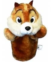 Pluche handpop eekhoorn trend