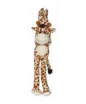 Pluche hangende knuffel giraffe 45 cm trend
