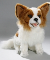 Pluche honden knuffel zittende chihuahua 25 cm trend