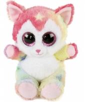 Pluche katten knuffel fluppy trend