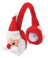 Pluche kerstman oorwarmers voor volwassenen trend