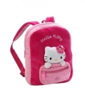 Pluche kinder schooltas van hello kitty trend
