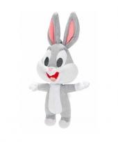 Pluche knuffel baby bugs bunny 17 cm trend