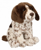 Pluche knuffel engelse pointer 24 cm trend