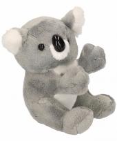Pluche knuffel koala 14 cm trend