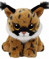 Pluche knuffel lynx ty beanie larry 33 cm trend