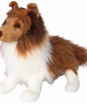 Pluche knuffel shetland sheepdog hond 41 cm trend