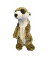 Pluche knuffel wnf meerkat 22 cm trend