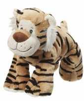 Pluche knuffeldier tijger 22 cm trend