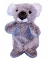 Pluche koala handpoppetje 28 cm trend
