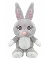 Pluche konijn knuffel 24 cm trend