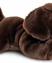 Pluche labrador puppy bruin 35 cm trend