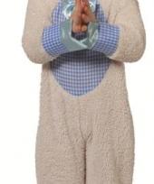 Pluche lammetjes kostuum voor jongens trend