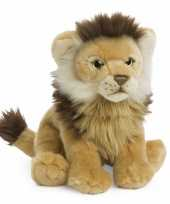 Pluche leeuw knuffeldier 23 cm trend