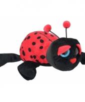 Pluche lieveheersbeestje knuffel 21 cm trend 10082519