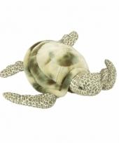Pluche liggende zeeschildpad knuffel 35 cm trend