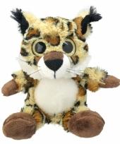 Pluche lynx knuffel 21 cm trend