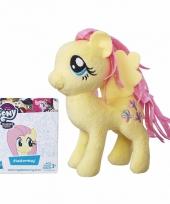 Pluche my little pony knuffel fluttershy 13 cm trend