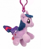 Pluche my little pony knuffel twilight sparkle paars 8 cm trend