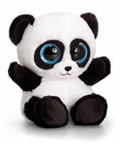 Pluche panda knuffel 15cm trend
