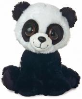 Pluche panda knuffel 30 cm trend 10085607