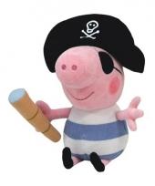 Pluche peppa pig knuffel george piraat trend